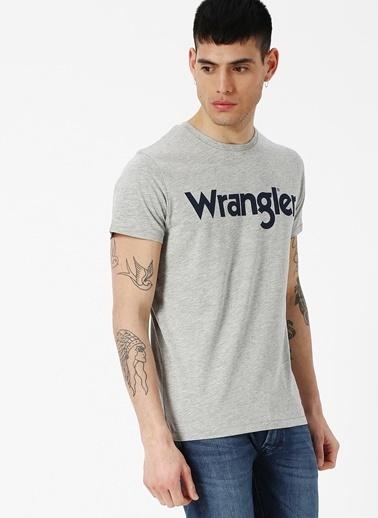 Lee&Wrangler Wrangler T-Shirt Gri